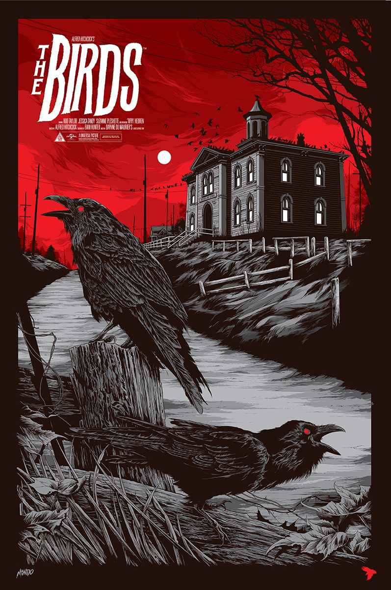 Mondo The Birds By Ken Taylor Hi Def Ninja Pop