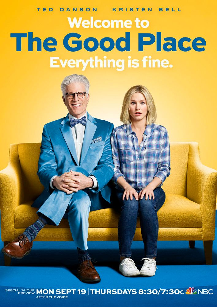 Kristen Bell on The Good Place, Ted Danson, and Clowns