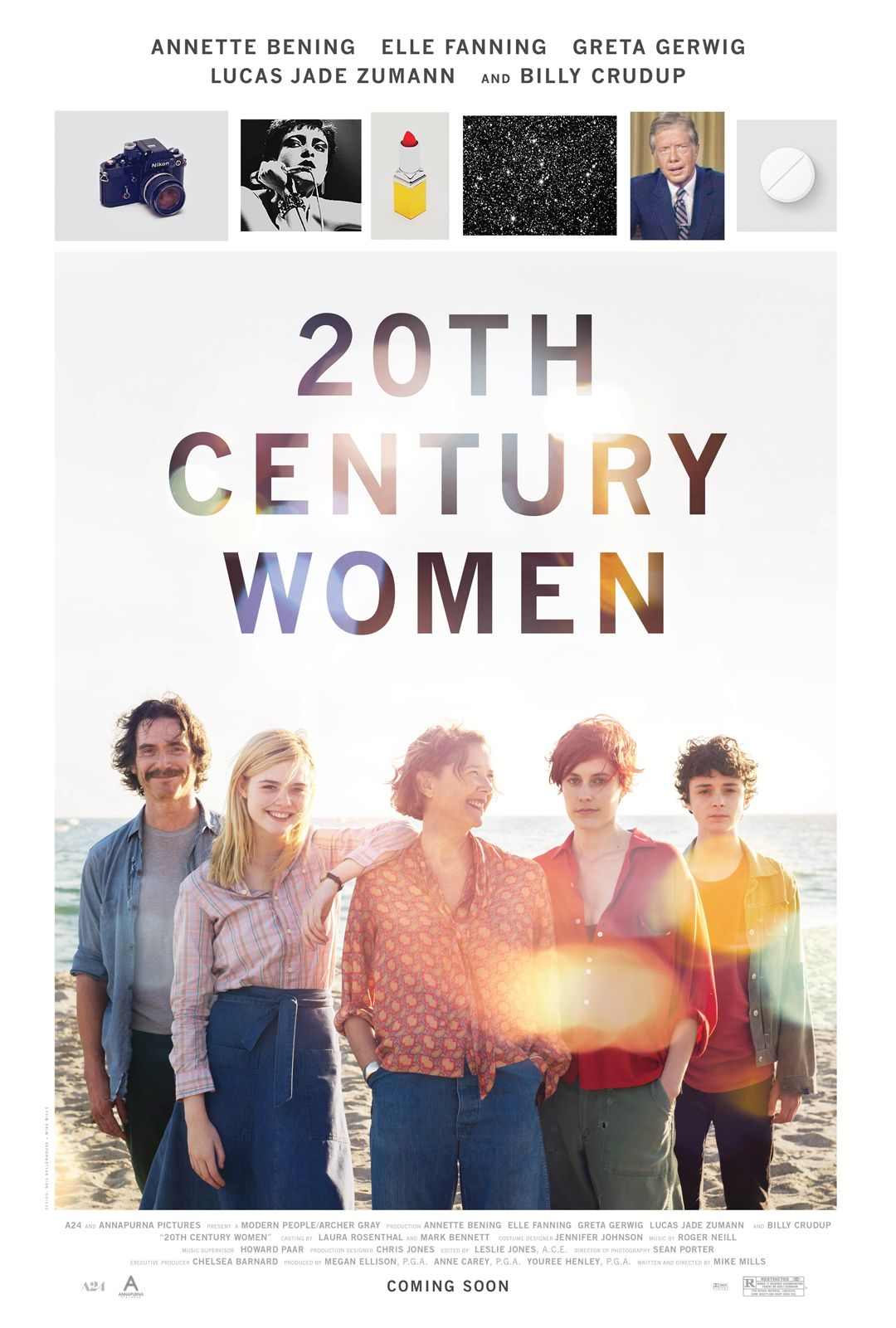 Poster design 20th century - 20th Century Women New Poster