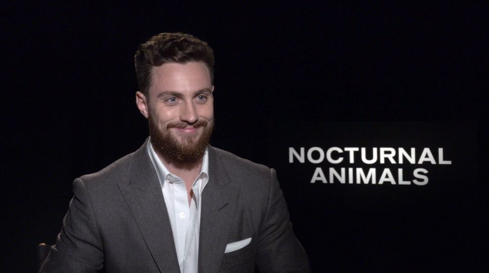Image of: Film Collider Aaron Taylorjohnson On Nocturnal Animals And The Wall Collider