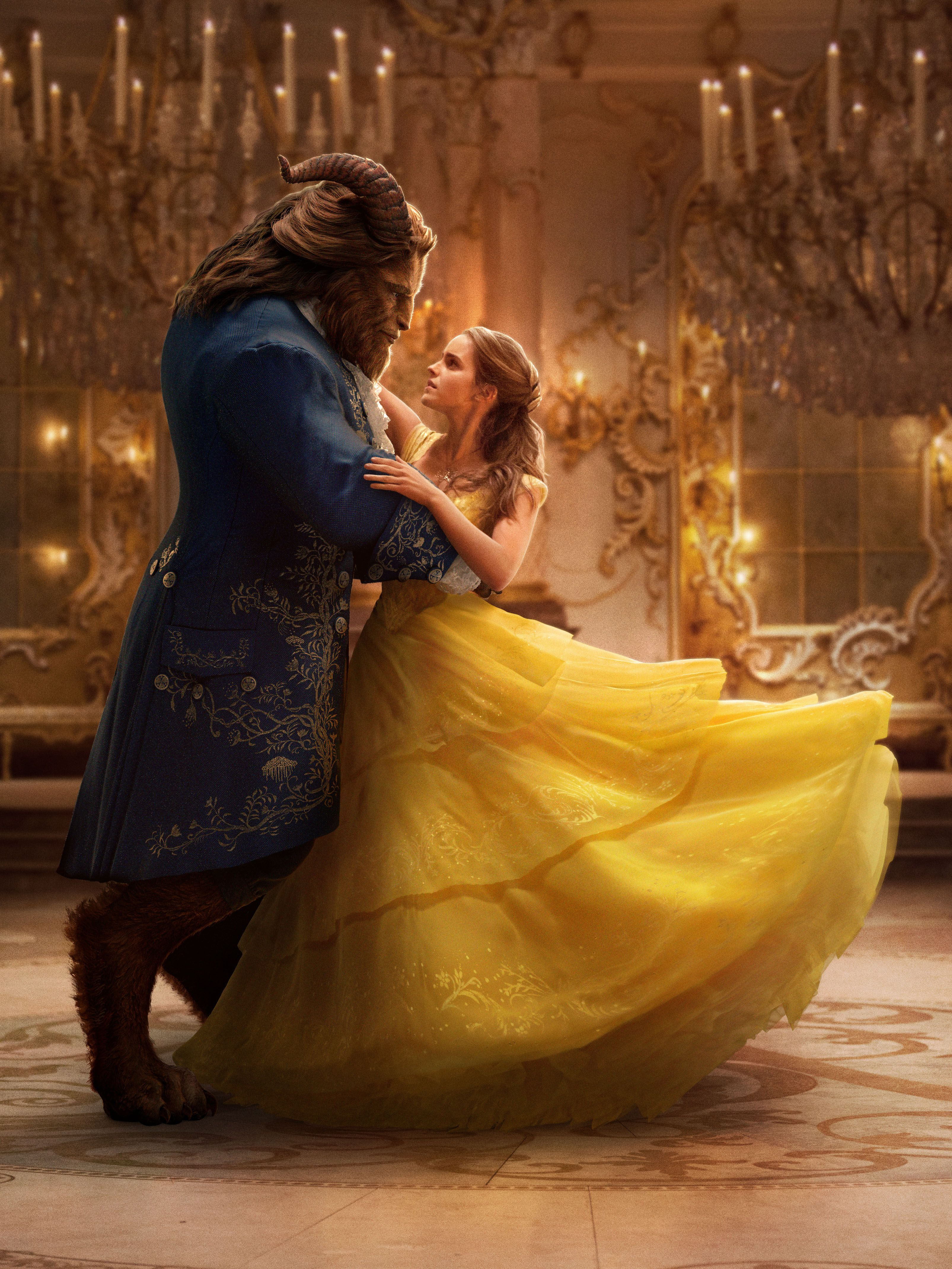 Beauty And The Beast Live-Action Images Of Emma Watson