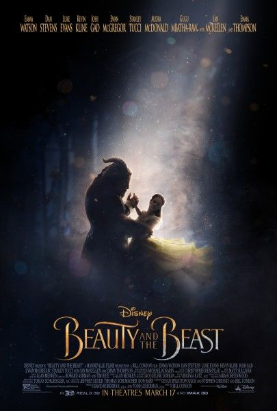 Image result for beauty and the beast poster