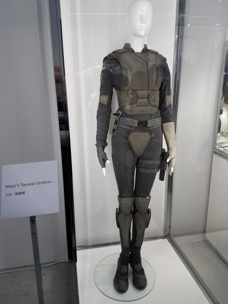 Ghost In The Shell Movie Props And Costumes From Tokyo Event Collider