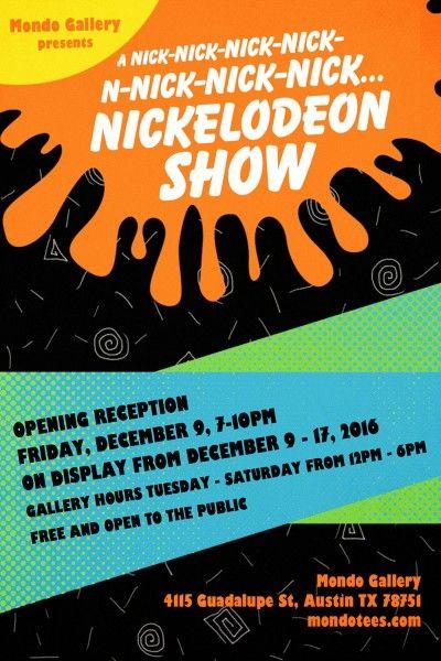 mondo-nickelodeon-show-poster