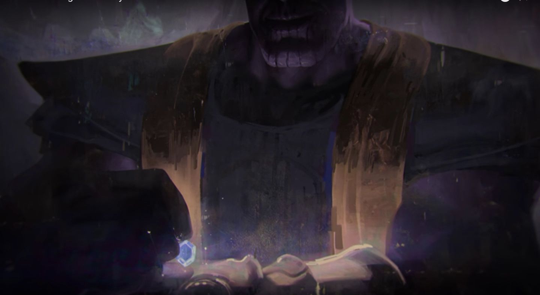 avengers 3 concept art thano 2