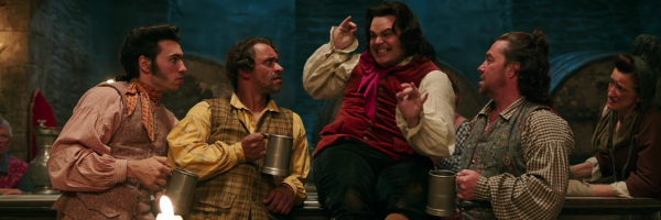 Beauty And The Beast Luke Evans And Josh Gad Sing Gaston Collider