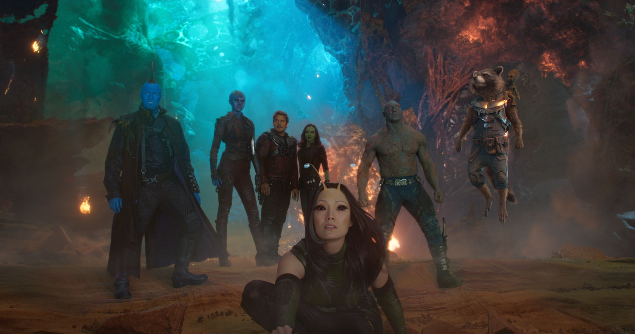 Guardians Of The Galaxy 2 Images Reveal Ayesha Collider