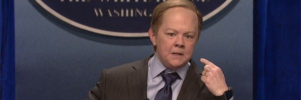 "Sean Spicer's SNL Return Truly Took A ""Spicey"" Surpise Turn"
