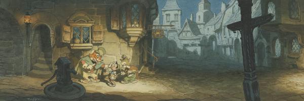 Disney Movie Concept Interior Art