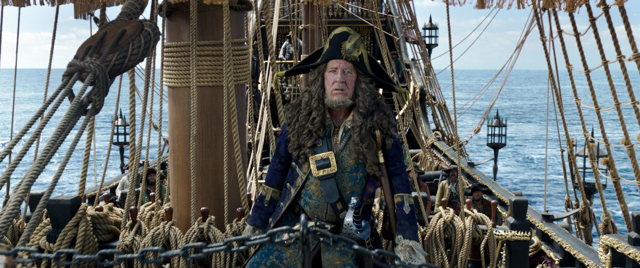 Caribbean Men: Pirates Of The Caribbean: New Trailer Hits The High Seas