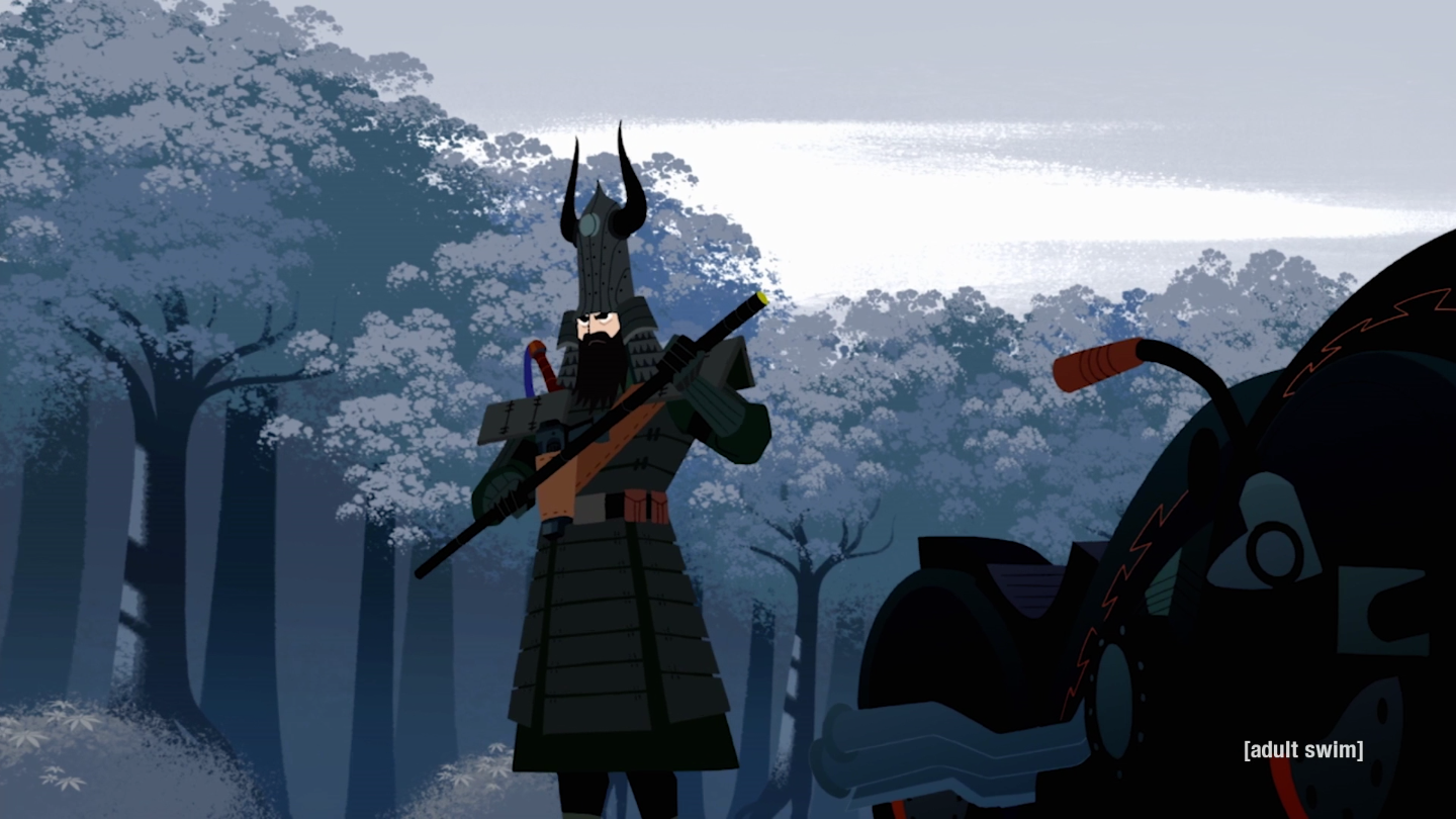 Best Motorcycle Armor >> Samurai Jack Season 5 Review: A Bold and Brutal Finish | Collider
