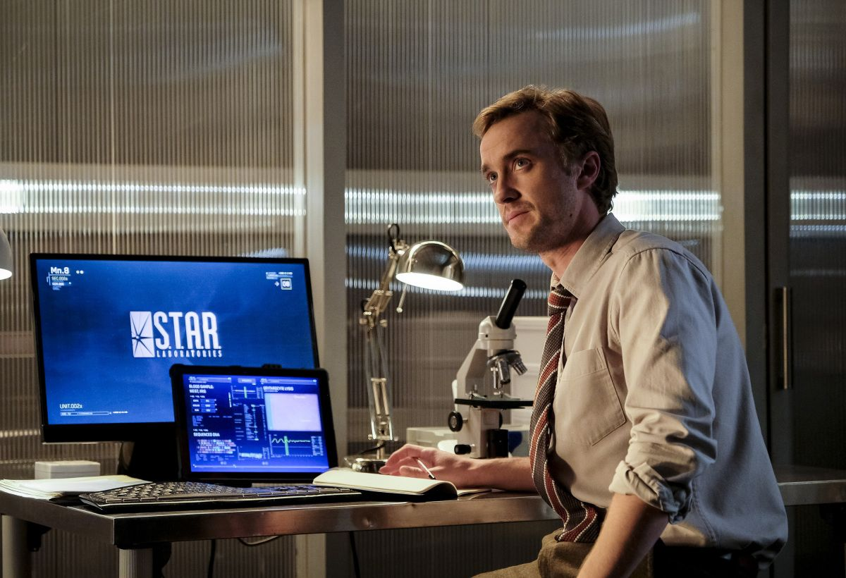 Former wizard Tom Felton disapparates from season 4 of The Flash
