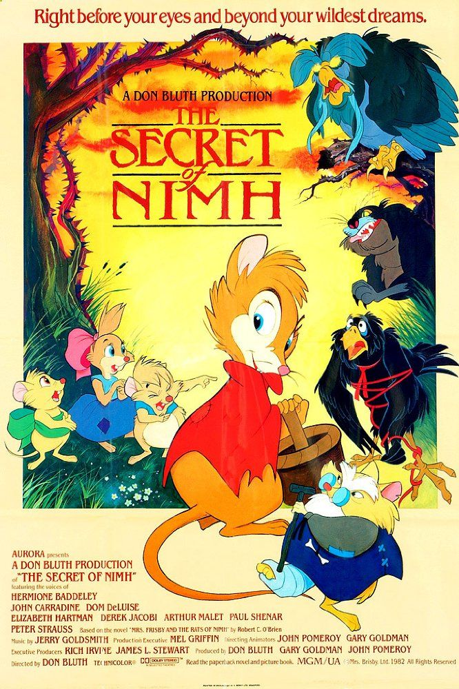 Rats of NIMH: James Madigan Directs Live-action/Animated ...