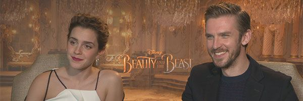 Beauty And The Beast Emma Watson Dan Stevens Interview