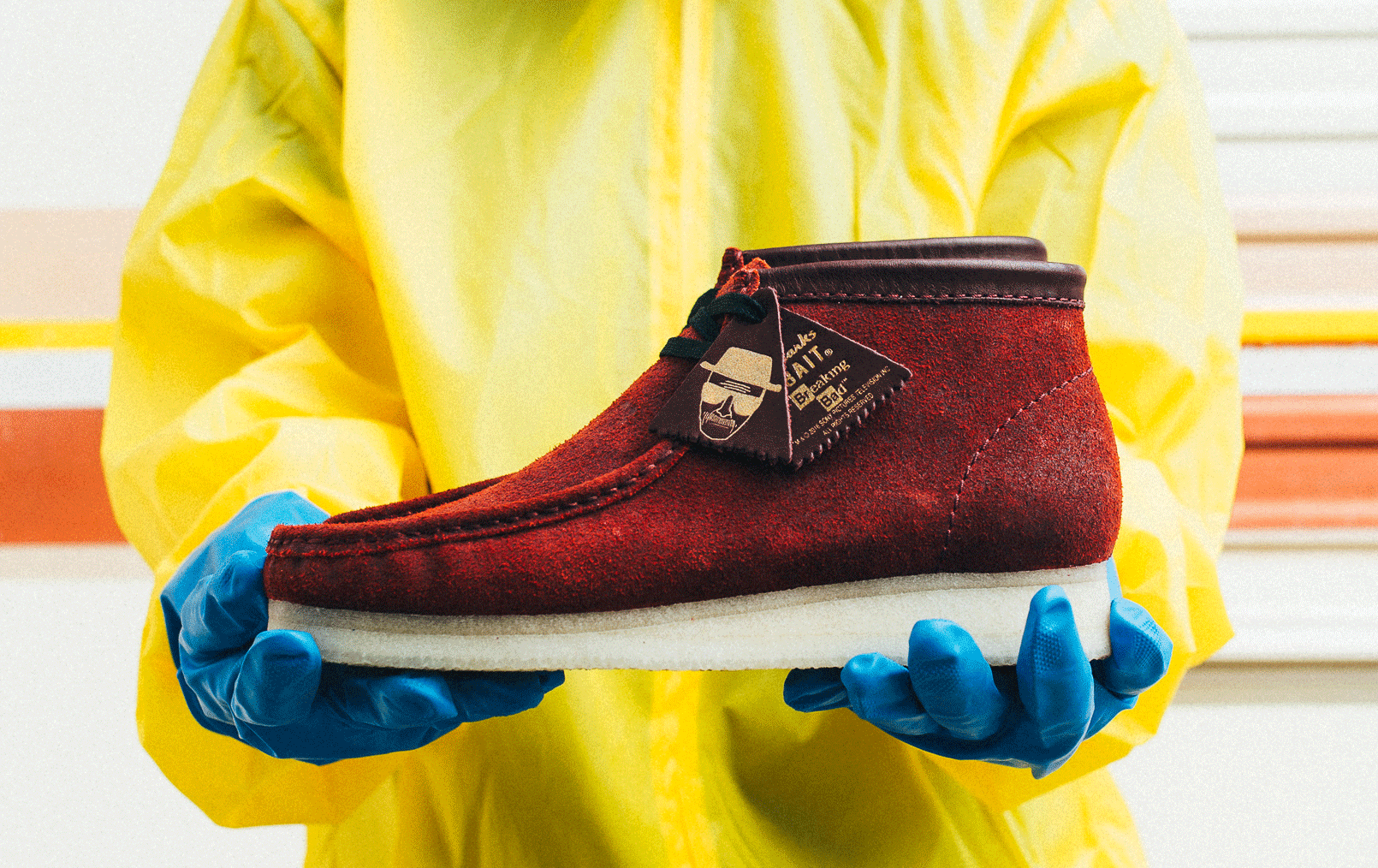 breaking bad shoes coming from bait collider