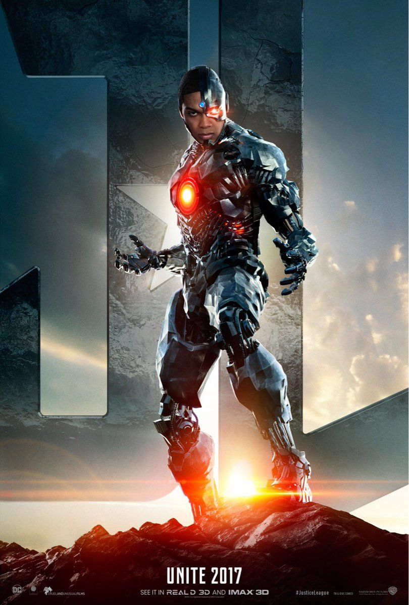 justice league trailer teaser reveals ray fishers cyborg
