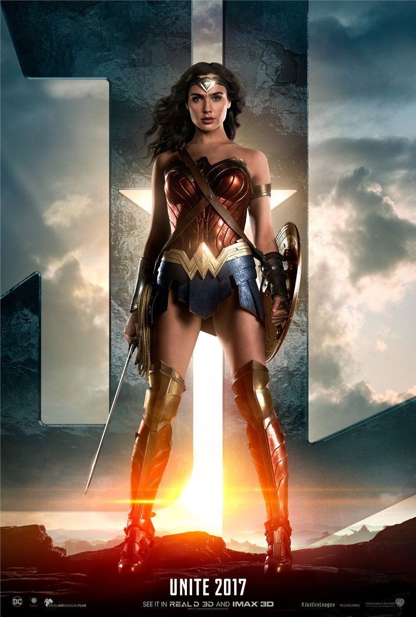 It is a picture of Wild A Picture of Wonder Woman