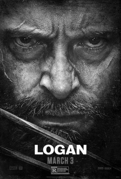 Logan poster black and white