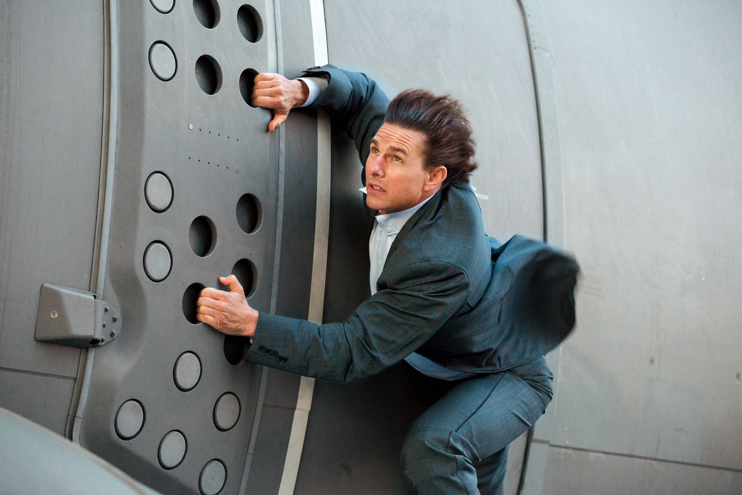 Tom Cruise in Mission: Impossible – Rogue Nation