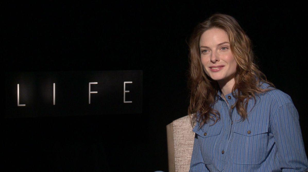 Rebecca Ferguson on Li...