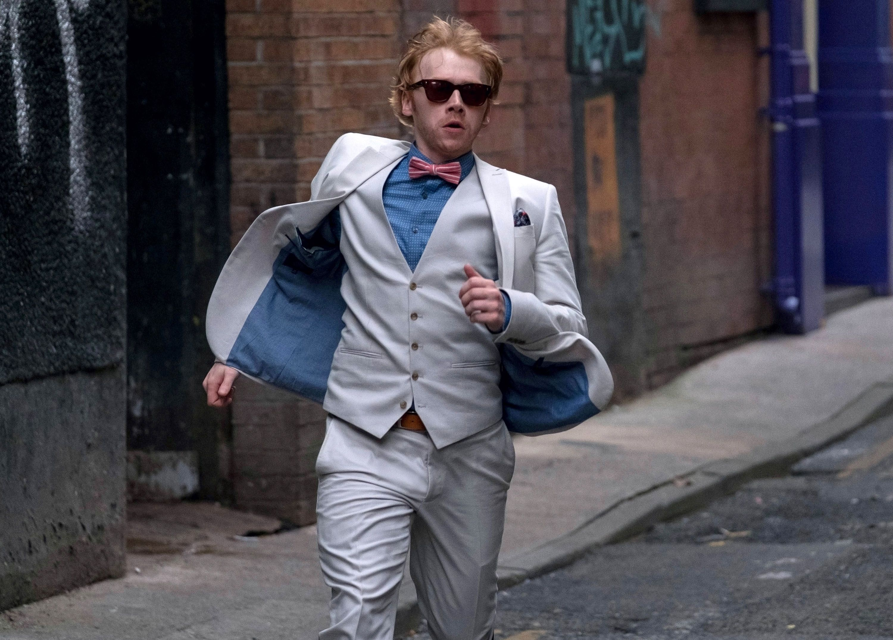 Snatch: Rupert Grint on Starring in the Crackle Series ... Rupert Grint Snatch