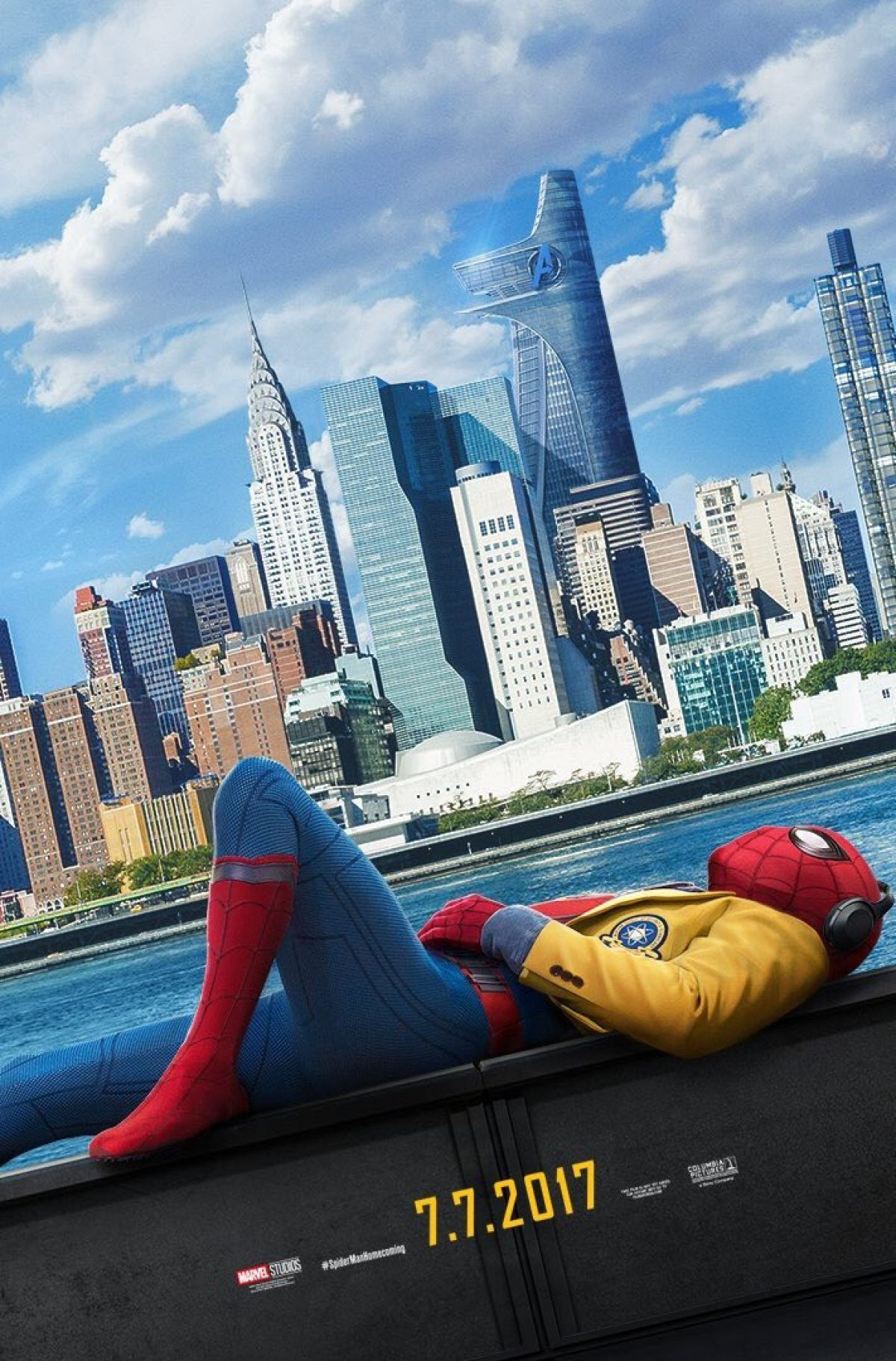 Image result for spider-man homecoming poster