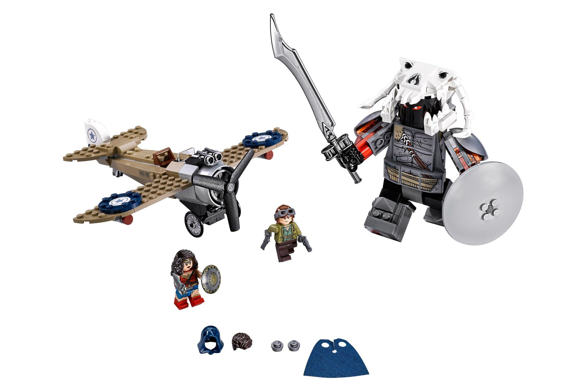 wonder woman lego images hint at gigantic ares collider