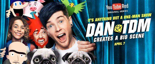 YouTube Red Series Review: DanTDM, Kings of Atlantis Set the