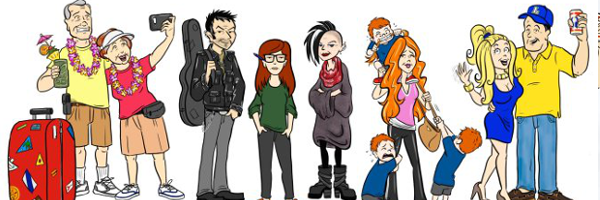 Cartoon Characters 30 Years Later : Daria see what the characters look like years later