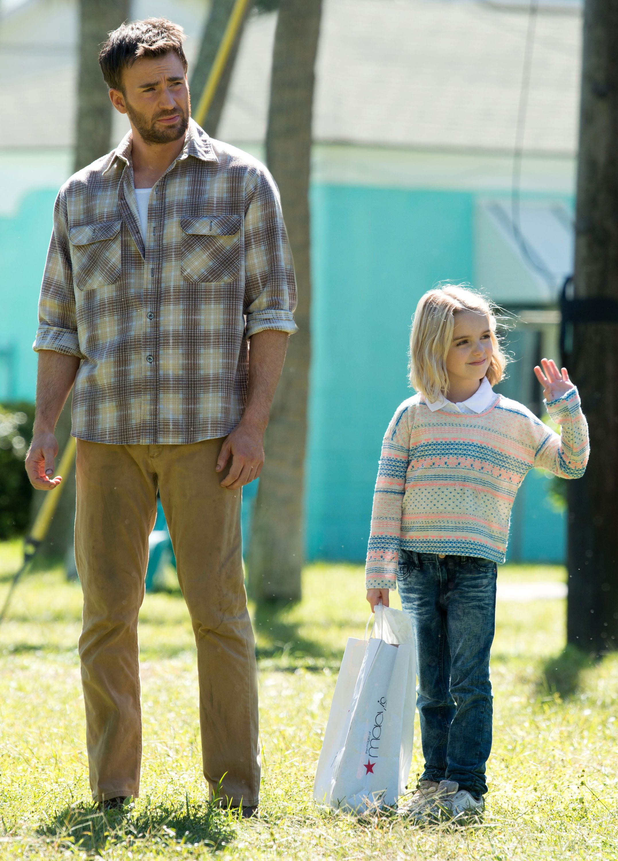 Chris Evans on Gifted,...