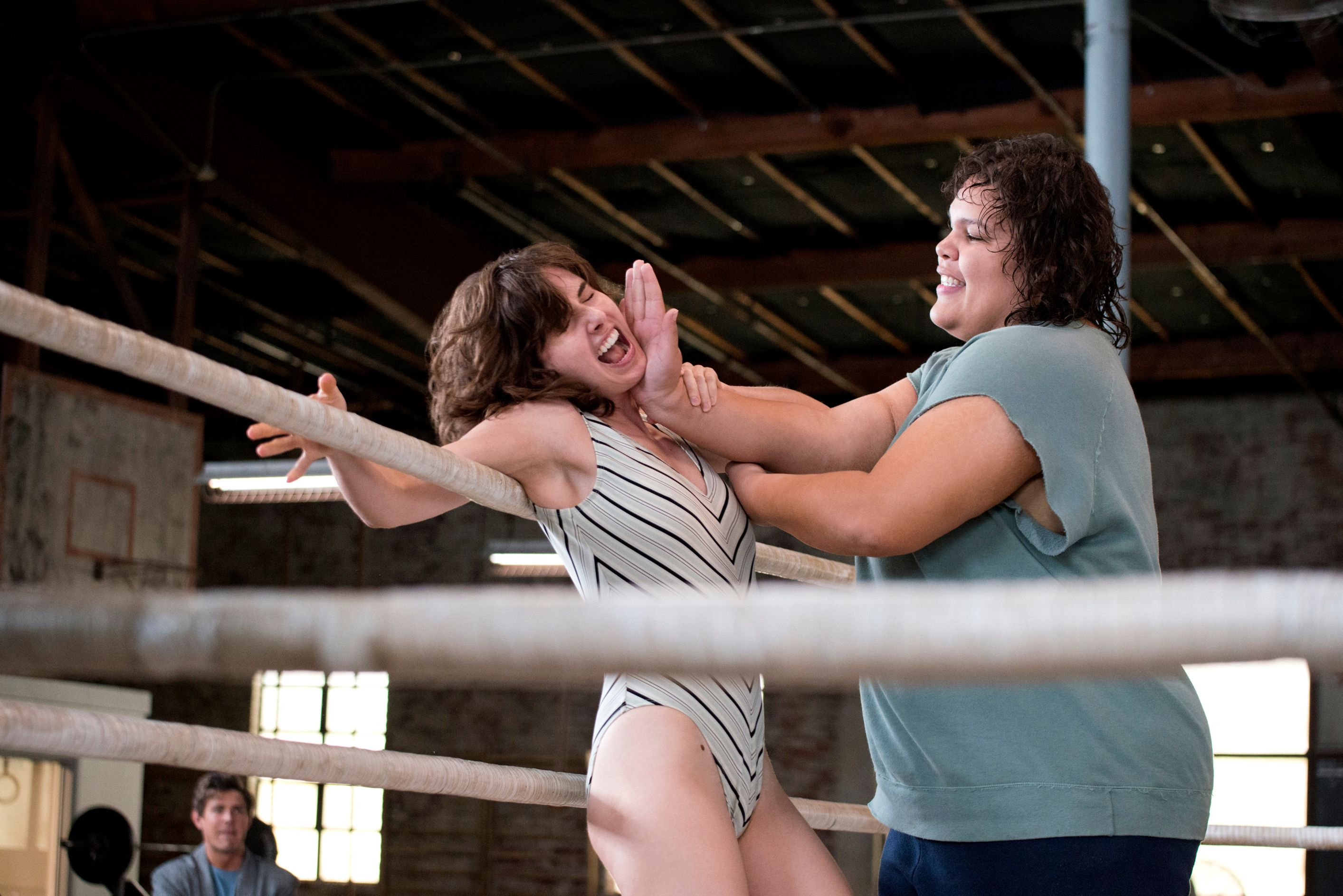 Alison Brie Leads Gorgeous Ladies of Wrestling in Netflix 'GLOW' Photos
