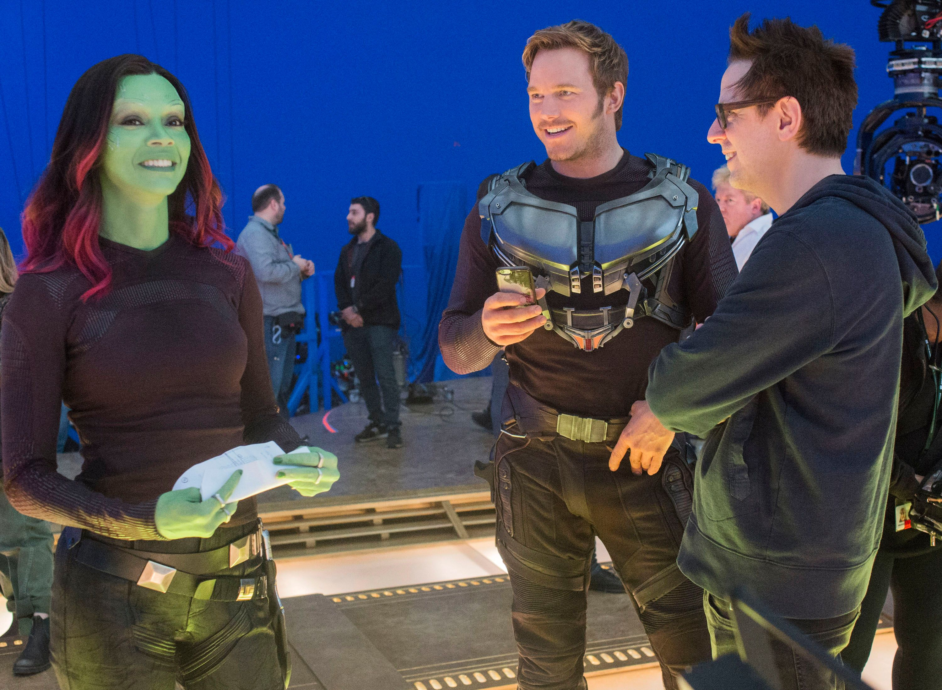 James Gunn says return of original Guardians is 'always a possibility'