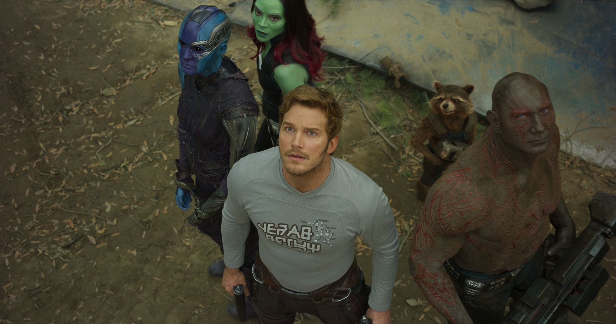 Family ties test the unconventional 'Guardians of the Galaxy'