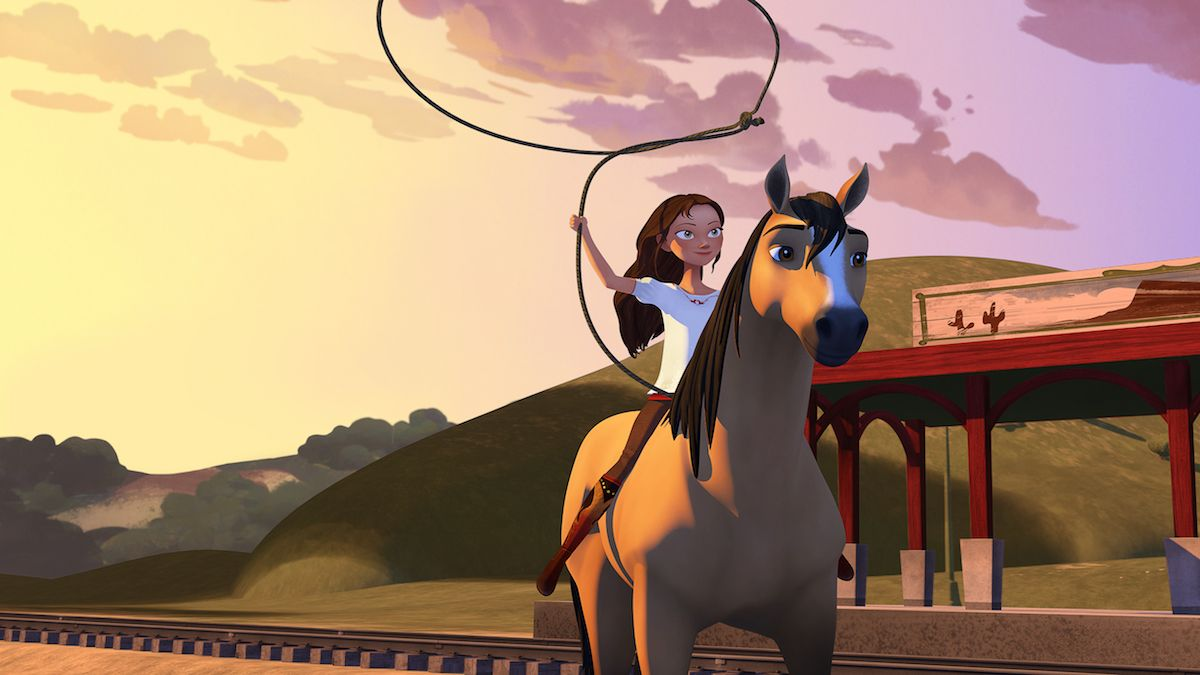 Spirit Riding Free Review Netflix Series Tames The Wild West