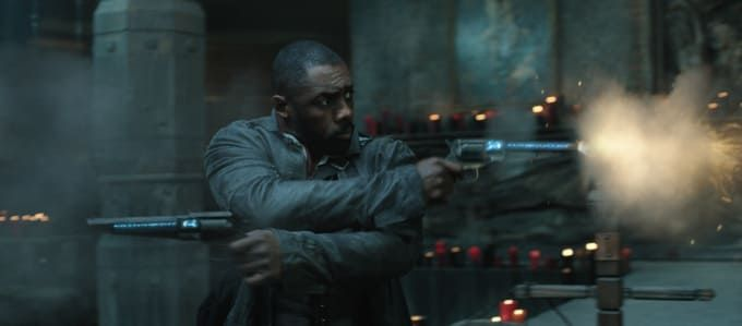 The Dark Tower Featurette: Stephen King on Idris Elba as ...