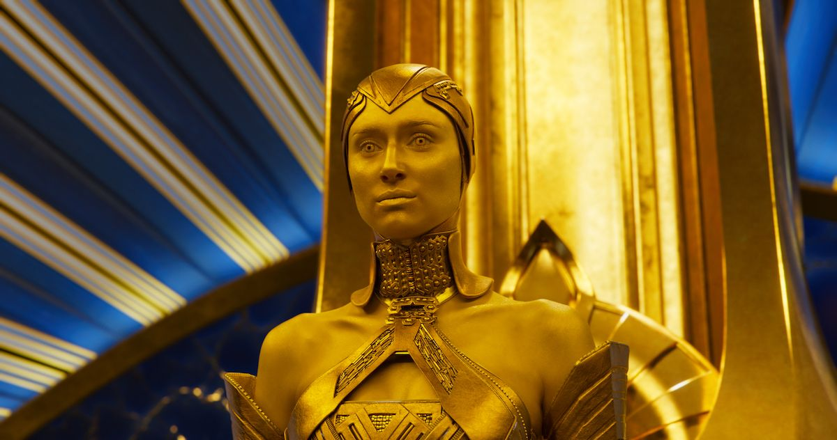 Elizabeth Debicki on Guardians of the Galaxy 2 and the Adam Scene | Collider