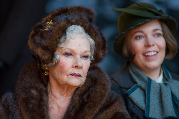 olivia-colman-judi-dench-murder-on-the-orient-express