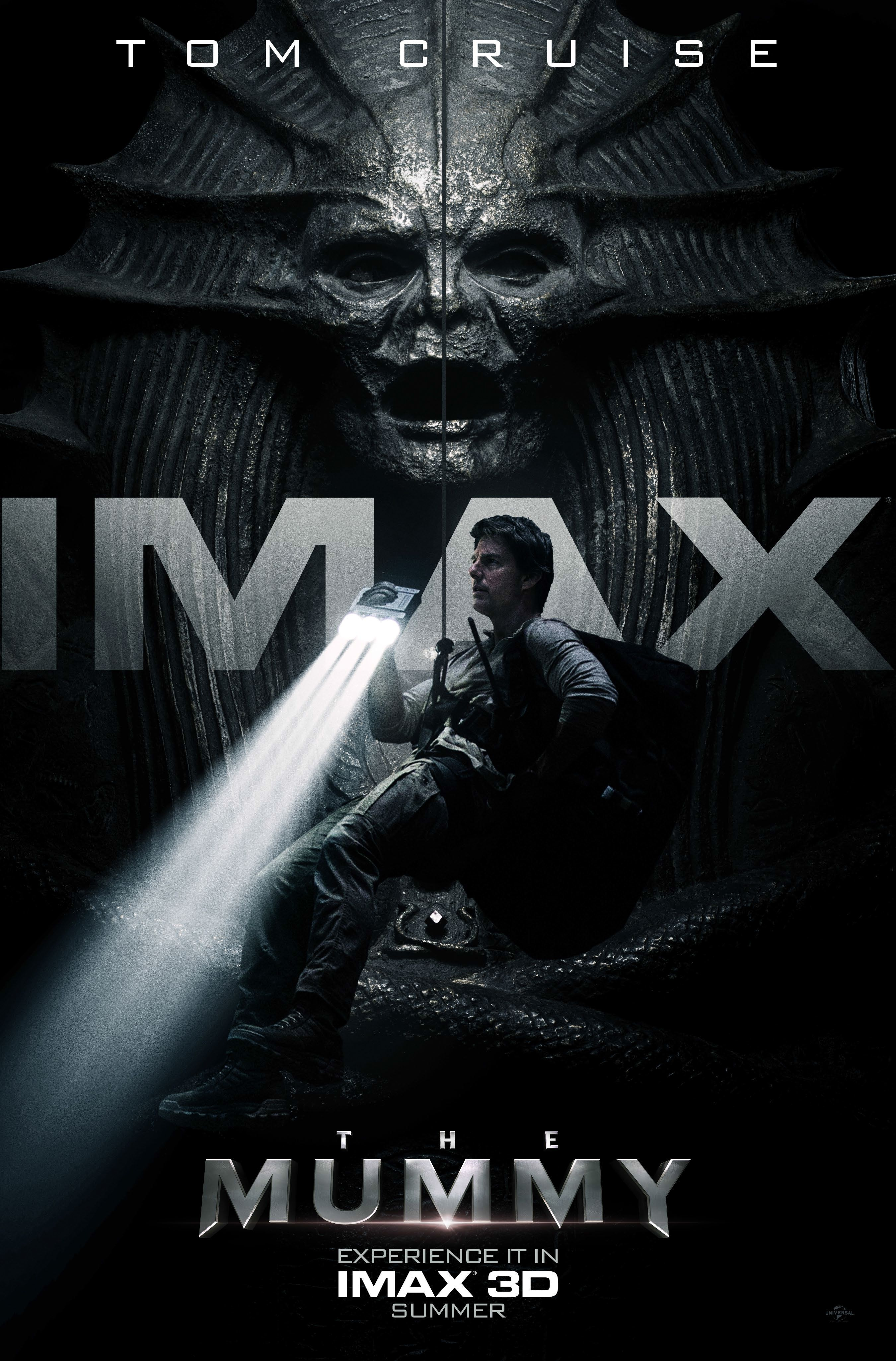 the mummy imax poster - The Mummy (2017) English 720p BRRip HEVC 700MB ESub