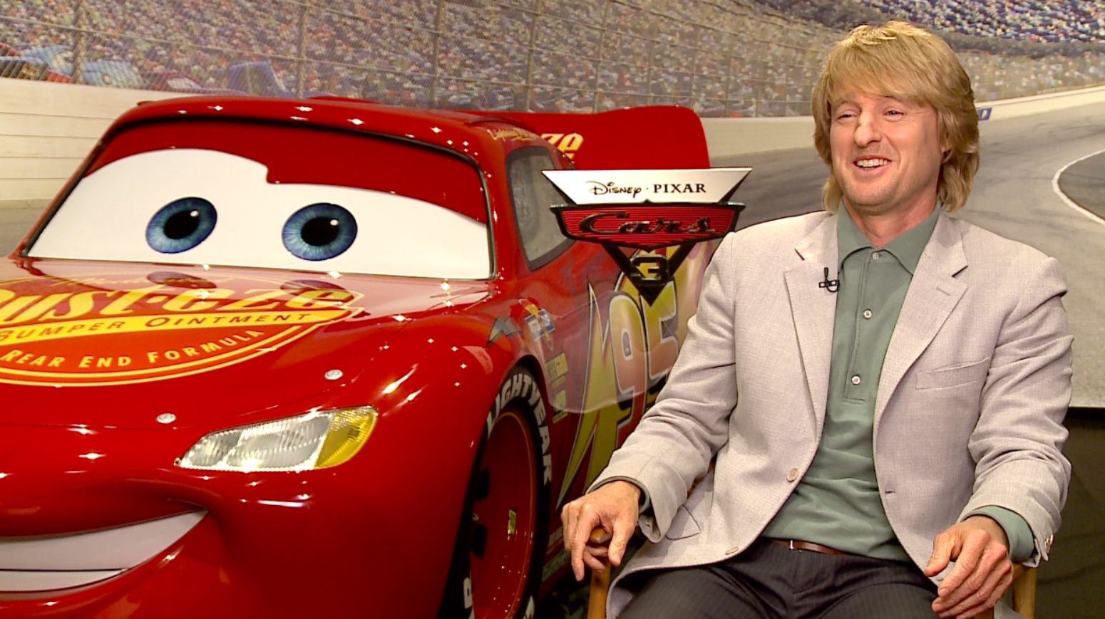 Owen Wilson On Cars 3 And Why He Never Sits Through The Movie