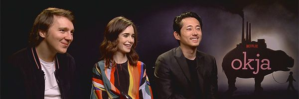 okja-paul-dano-lily-collins-steven-yeun-interview-netflix-slice