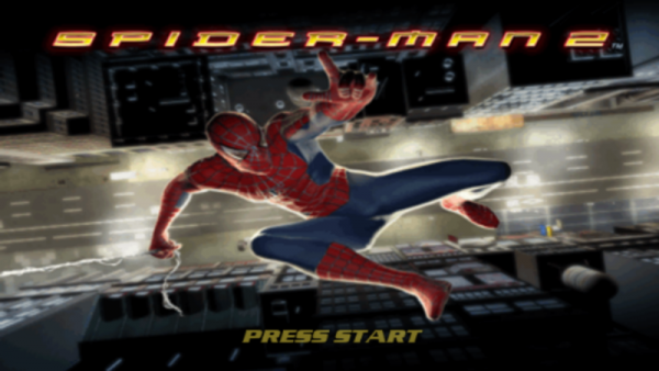 spider-man-2-video-game-title-screen