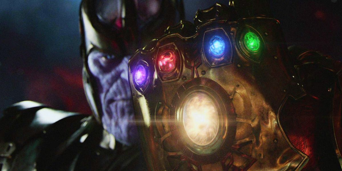 Infinity Stones Explained: Where They Are in the MCU ...  Thanos Infinity Gauntlet Movie