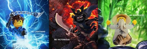 The Lego Ninjago Movie Posters Slice