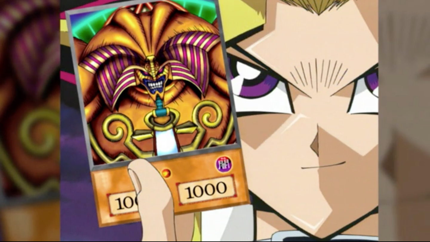 yugioh bluray special features clip the drawing of exodia collider
