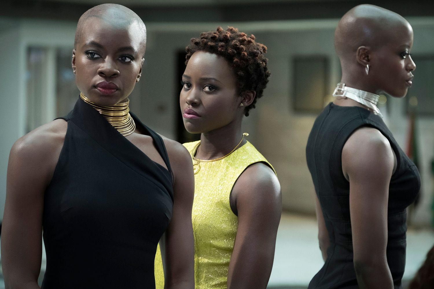 black panther danai gurira lupita nyongo - 'Black Panther' Box Office Scores Highest Monday of All Time, Brings 4-Day Total to $241 Million