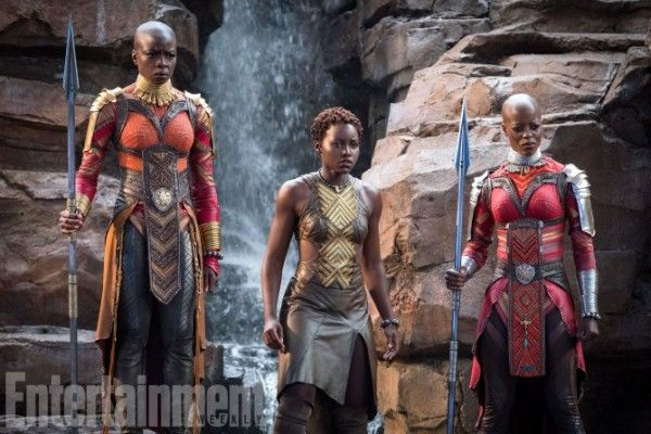 black-panther-movie-danai-gurira-lupita-nyongo-florence-kasumba