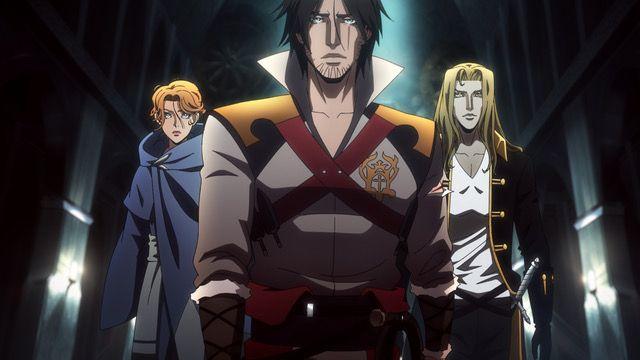 CASTLEVANIA Season 2 Poster Teases More Bloodshed As Trevor, Sypha And Alucard Prepare For Battle