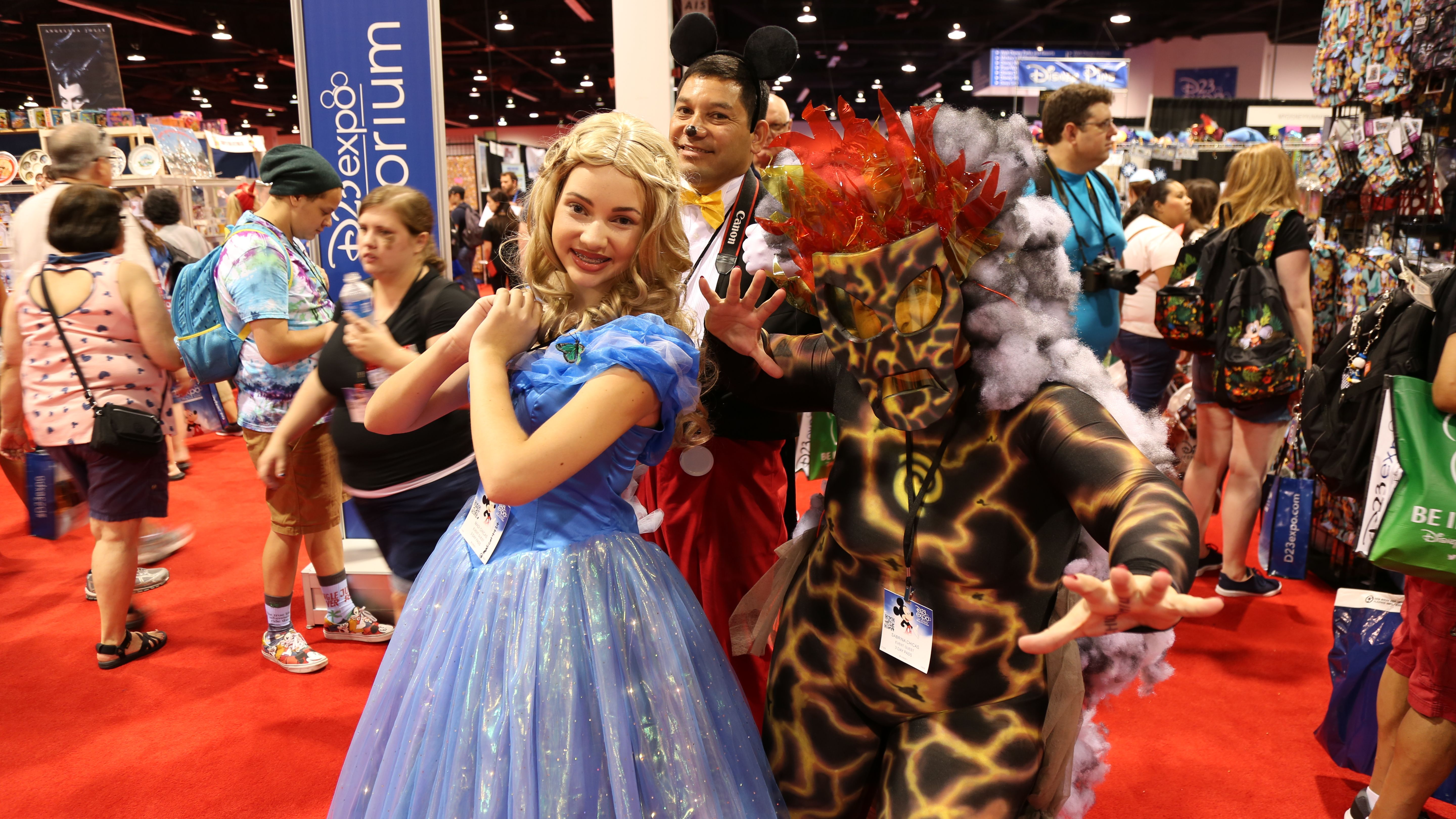 D23 Over 50 Convention Floor Images Reveal Disney Cosplay