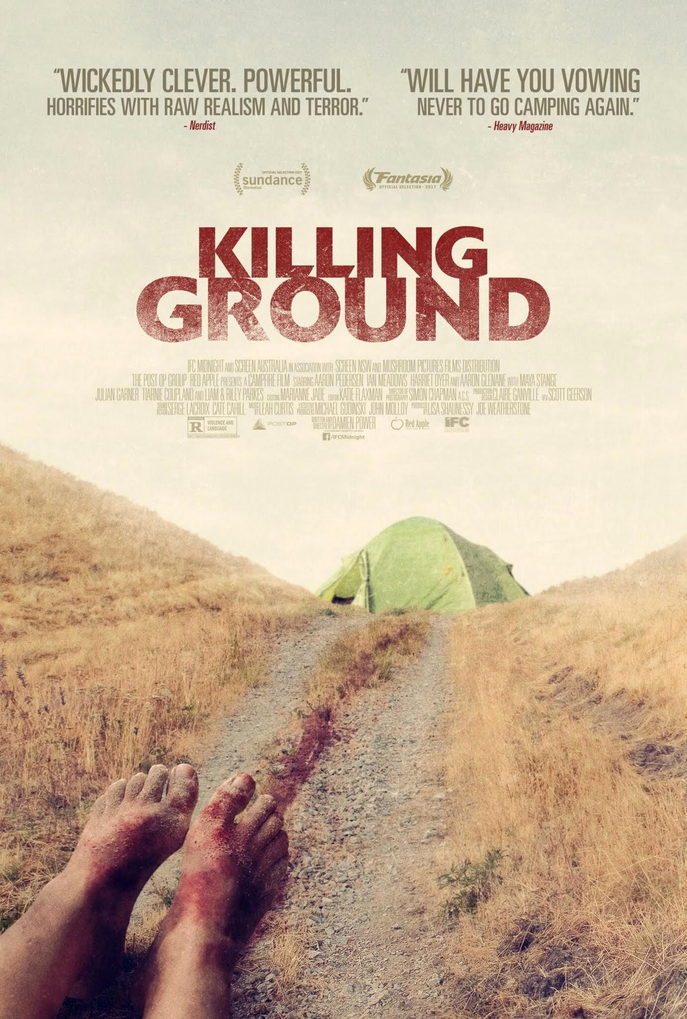 Killing Ground Clip Teases Terror in the Woods   Collider