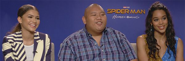 spider-man-homecoming-zendaya-jacob-batalon-laura-harrier-interview-slice